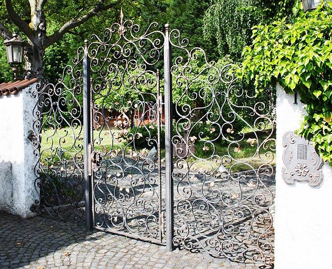 Gartentor Kunstschmiede Kandziora