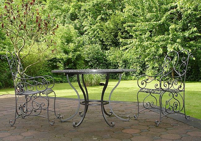 Garten-Sitzgarnitur Kunstschmiede Kandziora